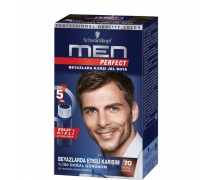 Schwarzkopf Men Perfect 70 Koyu Kahve