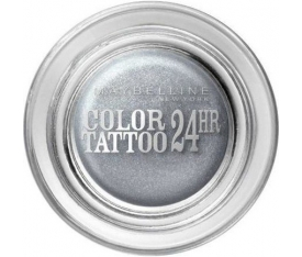 Maybelline Color Tattoo Eye Shadow 24hr Göz Farı 50 Eternal Silver