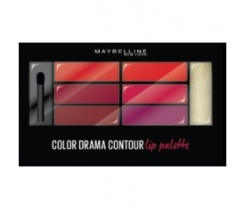 Maybelline New York Color Drama Lip Contour Palette 01 Crimson