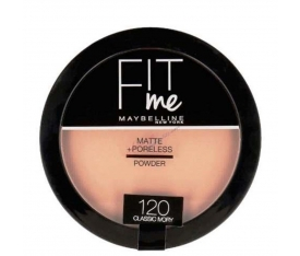 Maybelline New York Fit Me Powder 120 Classic Ivory