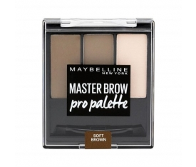 Maybelline New York Master Brow Pro Palette Nu3 Soft