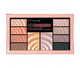 Maybelline New York Total Temptation Far ve Aydınlatıcı Paleti