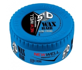 New Well Mavi Cok Sert 150 Ml Wax