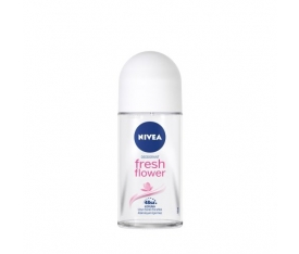 Nivea Deodorant Roll-On Fresh Flower Women 50 Ml