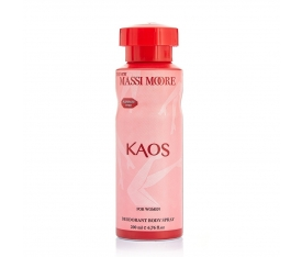 The New Massi Moore Kaos Kadın Deodorant 200 ML