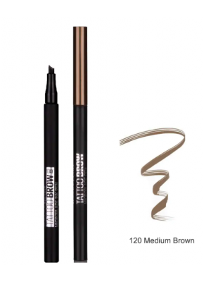 Maybelline New York Brow Tattoo Microblade Ink Pen Kaş Kalemi 120
