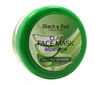 Black Red Kil Maske Mentol Aloe Vera 400 Ml