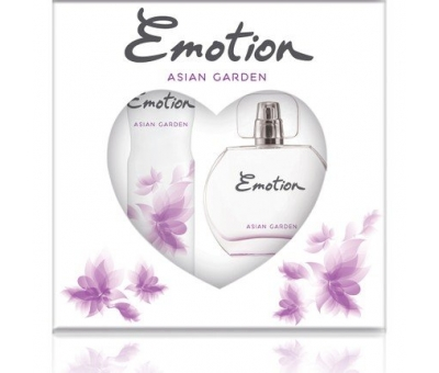 Emotion Set Asian Garden Bayan Parfüm Deodorant