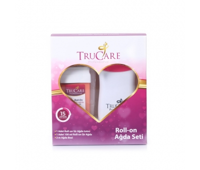 Trucare Roll On Kartuş Ağda Seti